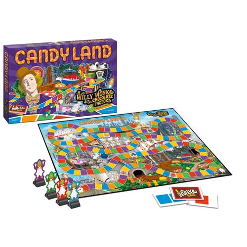 Boardgames - Candyland - Willy Wonka