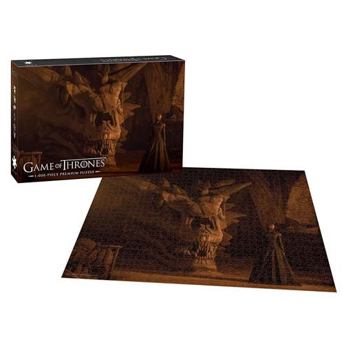 Puzzles - 1000 Pcs - Game Of Thrones - Balerion The Black Dread