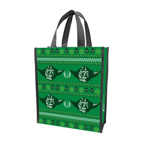 Backpacks & Bags - Star Wars - Ugly Sweater Small Recycled Shopper Tote