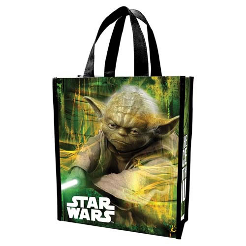 Backpacks & Bags - Star Wars - Yoda Small Recycled Shopper Tote