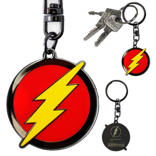 Keychains - DC Comic's - Flash Logo