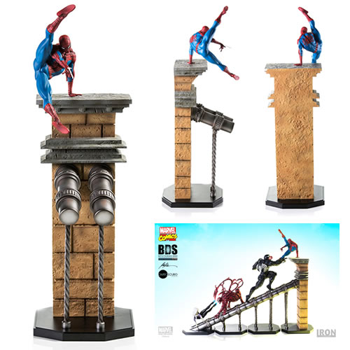 Iron Studios Battle Diorama Series Statues - 1/10 Scale Spider-Man