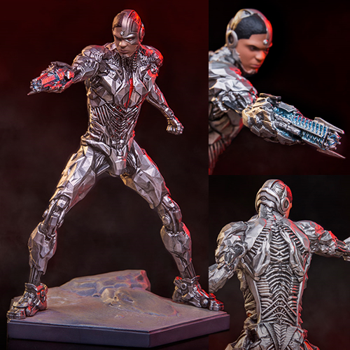 Iron Studios Art Scale 1/10 Statues - Justice League Movie - Cyborg