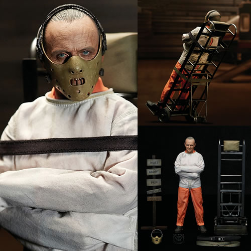 The Silence Of The Lambs Figures - 1/6 Scale Hannibal Lecter (Straitjacket Version)
