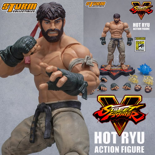 Street Fighter Figures - 1/12 Scale SFV Hot Ryu