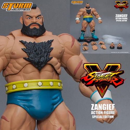 Street Fighter Figures - 1/12 Scale SFV Zangief Special Edition