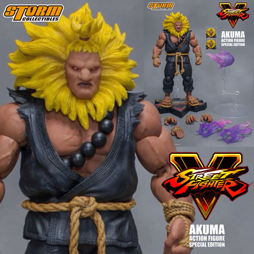 Street Fighter Figures - 1/12 Scale SFV Akuma Special Edition