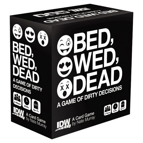 Card Games - Bed, Wed, Dead - A Game Of Dirty Decisions