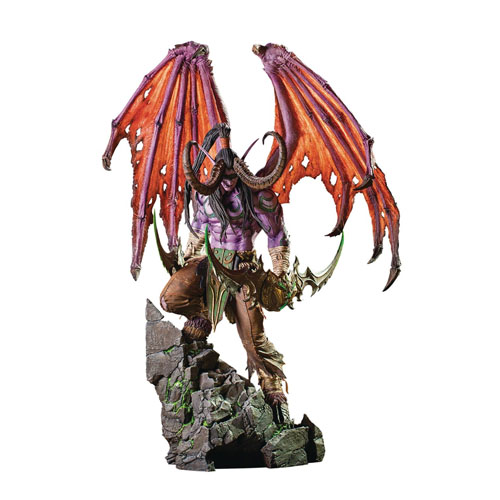 "Warcraft Statues - 24"" World Of Warcraft Illidan"