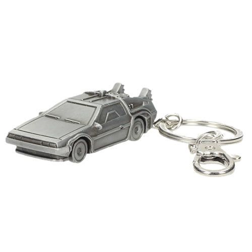 Keychains - Back To The Future - DeLorean Time Machine