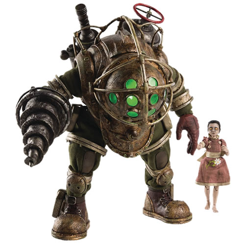 Bioshock Figures - 1/6 Scale Big Daddy & Little Sister