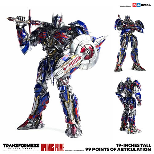 Transformers 5 The Last Knight Movie Figures - 1/6 Premium Scale Optimus Prime