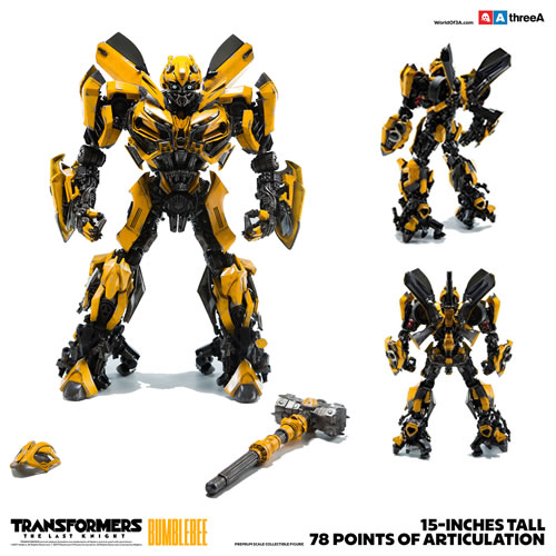 Transformers 5 The Last Knight Movie Figures - 1/6 Premium Scale Bumblebee