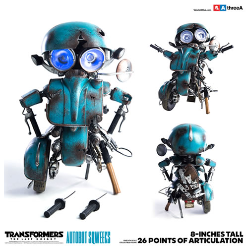 Transformers 5 The Last Knight Movie Figures - 1/6 Premium Scale Autobot Sqweeks