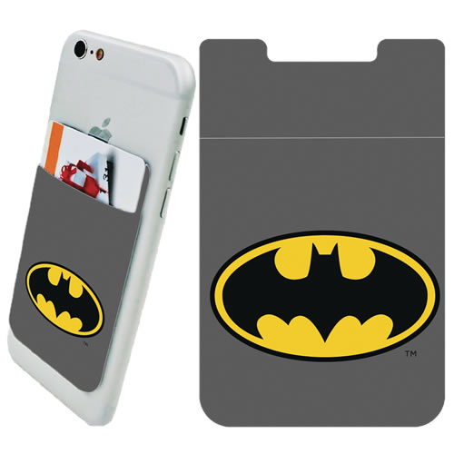 DC Comic's Accessories - Batman Logo Phone Card Holder