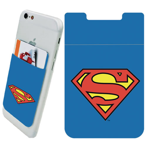 DC Comic's Accessories - Superman Logo Phone Card Holder