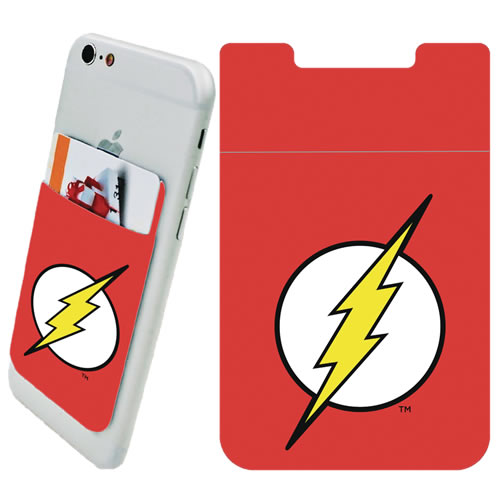 DC Comic's Accessories - Flash Logo Phone Card Holder