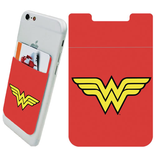 DC Comic's Accessories - Wonder Woman Logo Phone Card Holder
