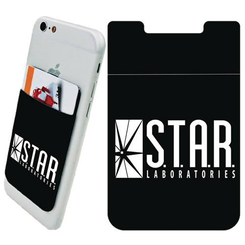 DC Comic's Accessories - Star Labs Logo Phone Card Holder