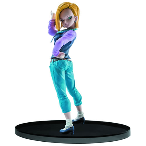 Dragon Ball Figures - Super Sculture Big Budokai Android 18 Figure
