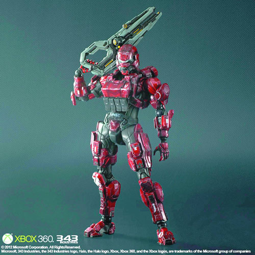 Halo 4 Play Arts Kai Figure - Spartan Soldier