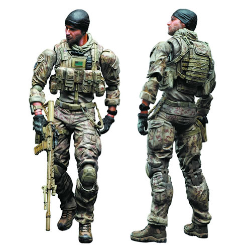 Medal Of Honor Warfighter - Play Arts Kai Preacher Figure