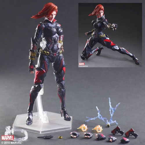 Marvel Universe Variant Play Arts Kai Figures - Black Widow