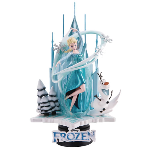 D-Select Series Statues - Disney - DS-005 Frozen Diorama
