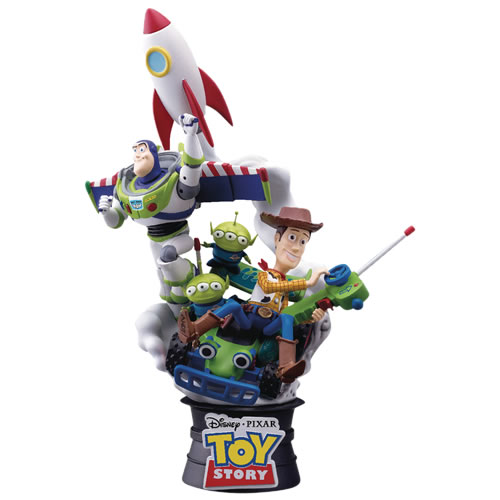 D-Select Series Statues - Disney - DS-007 Toy Story Diorama