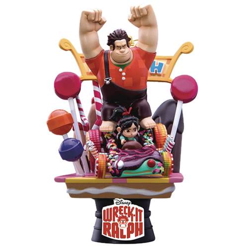 D-Select Series Statues - Disney - DS-008 Wreck-It Ralph Diorama