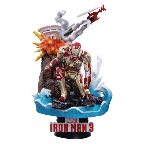 D-Select Series Statues - Marvel - DS-016SP Iron Man MK42 Exclusive