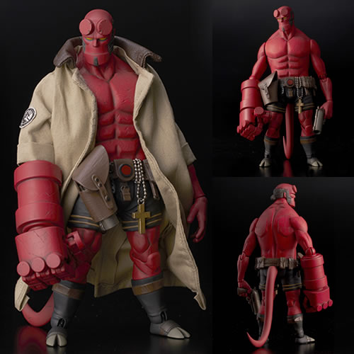 Hellboy Figures - 1/12 Scale Hellboy Regular Version