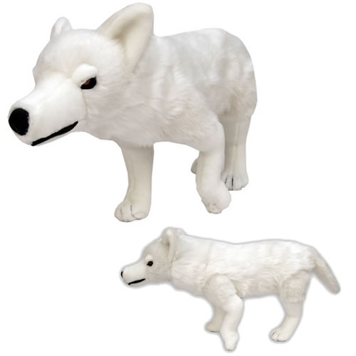 Game of Thrones Plush - Direwolf (Ghost)
