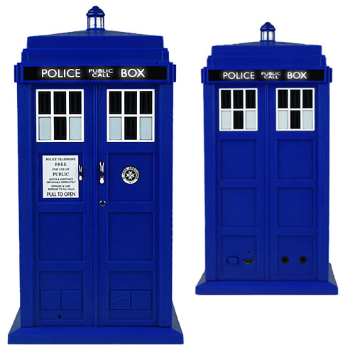 Speakers & Headphones - Doctor Who - Tardis Bluetooth Speaker