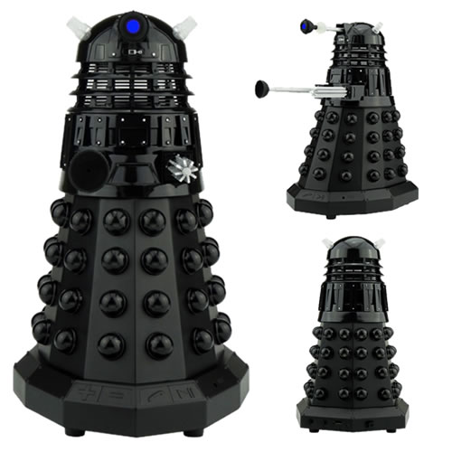 Speakers & Headphones - Doctor Who - Dalek Sec Portable Bluetooth Speaker (Black)