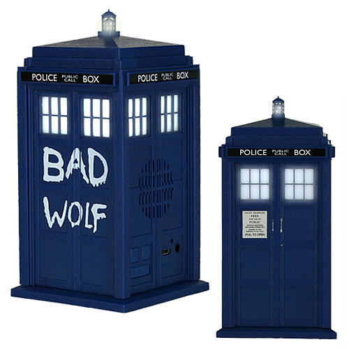 Speakers & Headphones - Doctor Who - Bad Wolf Tardis Bluetooth Speaker