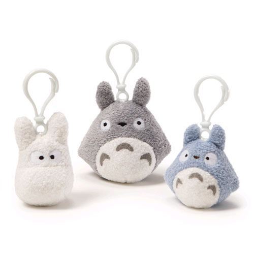 "My Neighbor Totoro Plush - 3"" Backpack Clip-on Assortment"