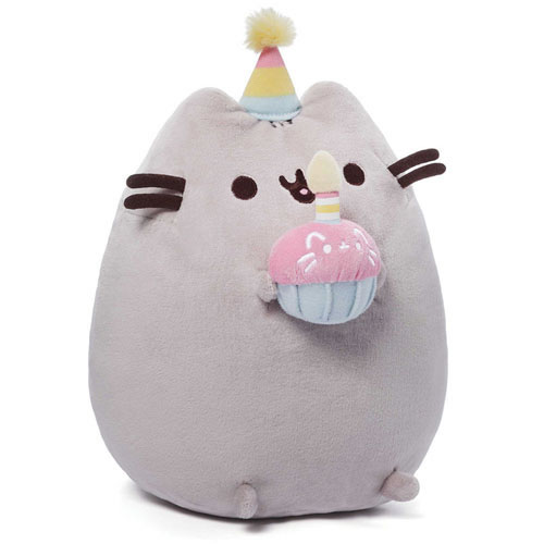 "Pusheen Plush - 10"" Birthday Pusheen"