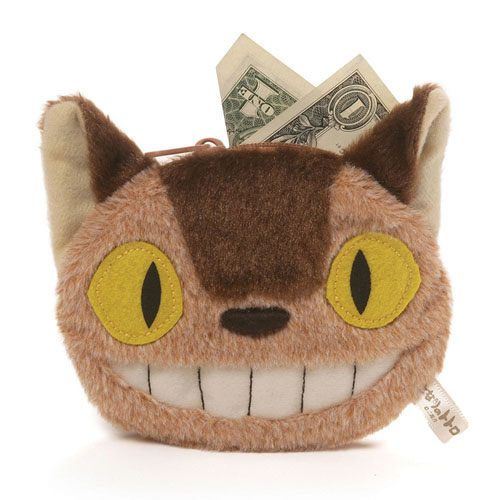 "My Neighbor Totoro Plush - 4.5"" Cat Bus Coin Purse"