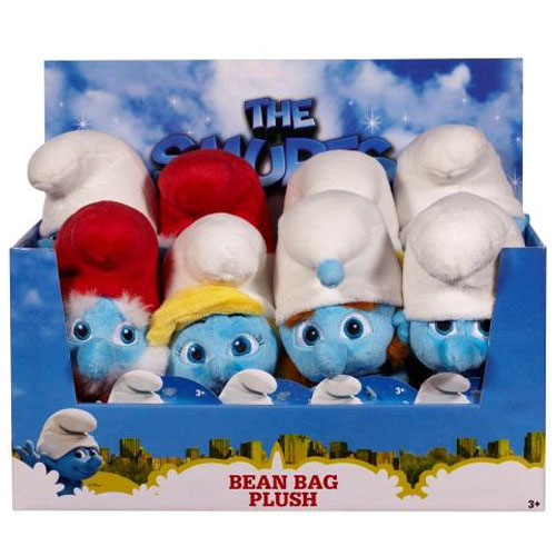 The Smurfs Movie 2 Plush - Bean Bag Plush Wave 1