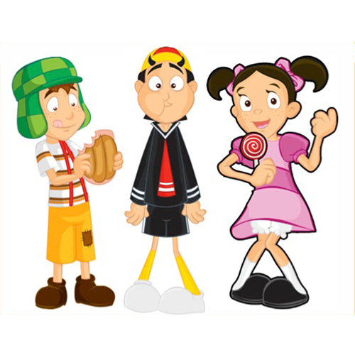 El Chavo Figures - 6 Pcs Vinyl Figures Assortment