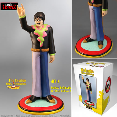 Rock Iconz Statues - The Beatles Yellow Submarine - John Lennon
