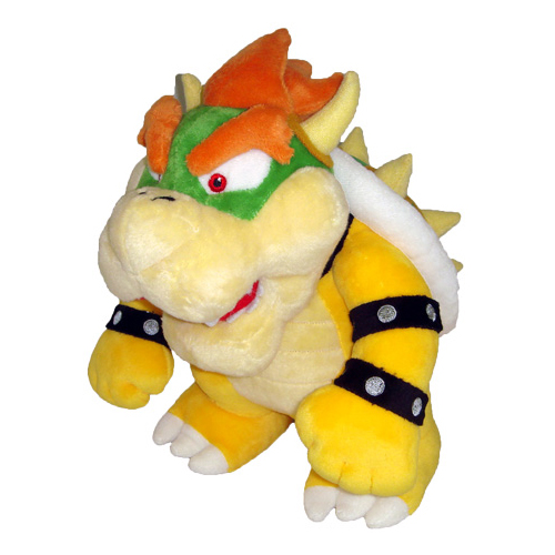 "Super Mario 10"" Plush - Bowser"