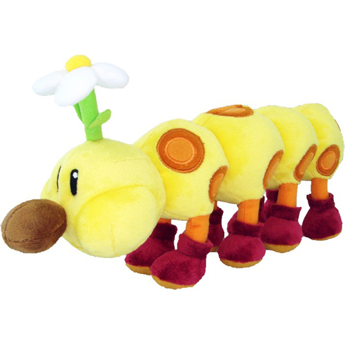 "Super Mario 12"" Plush - Wiggler"