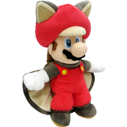 "Super Mario 14"" Plush - Flying Squirrel Mario"