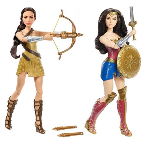 DC Comics Dolls - Wonder Woman Movie - Deluxe Fashion Assortment