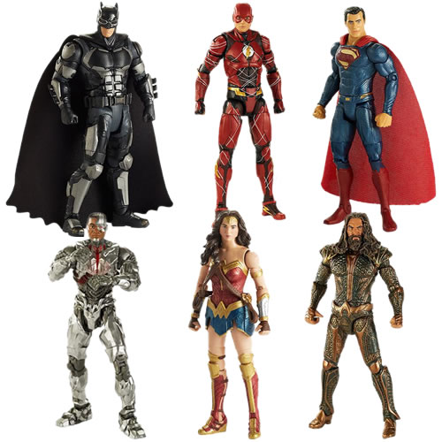 DC Comic's Multiverse Figures - Justice League Movie Figure Assortment