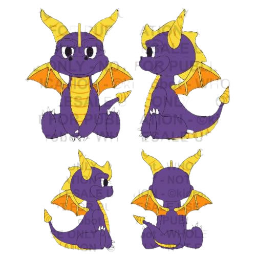 "HugMe Plush - Spyro The Dragon - 16"" Spyro"
