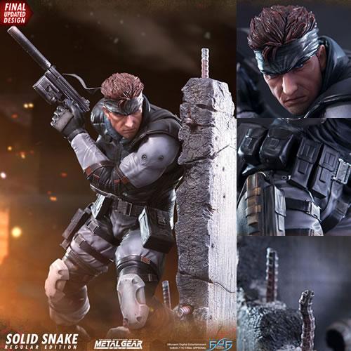 Metal Gear Statues - Metal Gear Solid Snake Statue