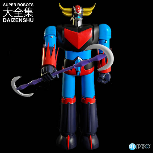 "Super Robots Daizenshu Figures - 20"" Grendizer Retro Limited Edition"